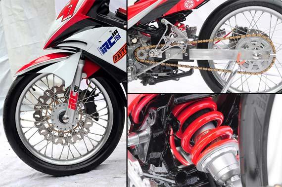 Biaya Modif Yamaha Jupiter Mx