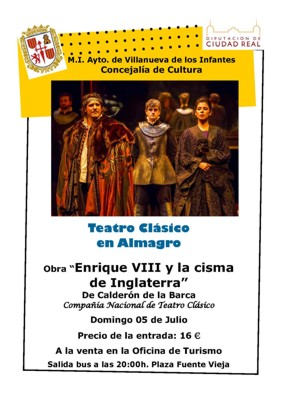 El ayuntamiento organiza un viaje para asistir al festival de teatro de almagro - Oficina de turismo de almagro ...