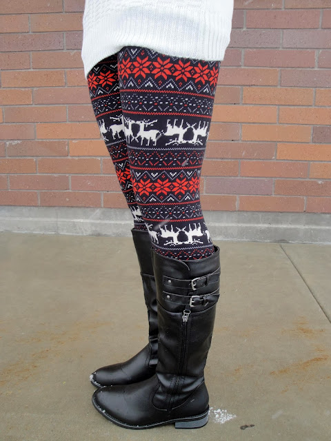 ami clubwear, amiclubwear, Boots, cute, festive, festive colors, Leggings, our world boutique, ourworldboutique, red tunic, riding boots, tunic,