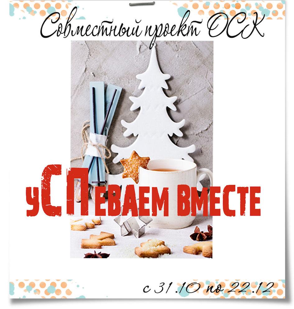"""Совместный проект """"уСПеваем вместе"""""""