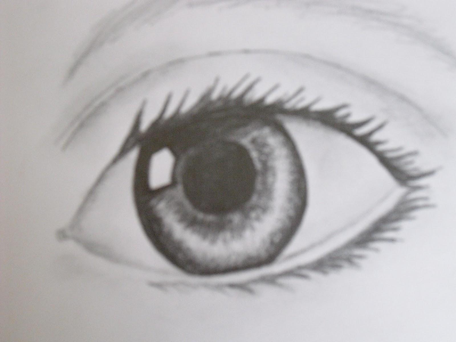 tegning øje