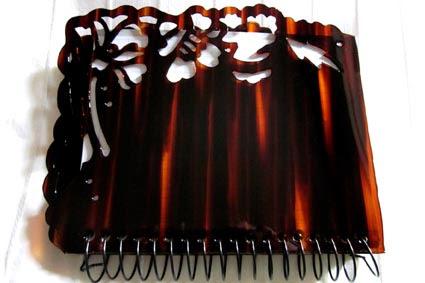 Cuaderno con tapas de carey