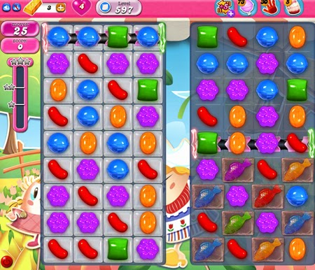 Candy Crush Saga 597