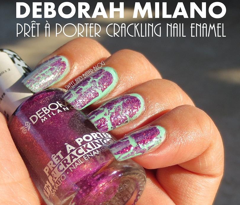 Crackle Nail Polish With Glitter - Deborah Milano Pret A ...