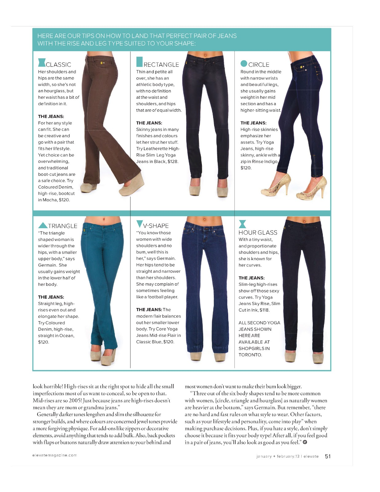 how to find jeans that fit your shape