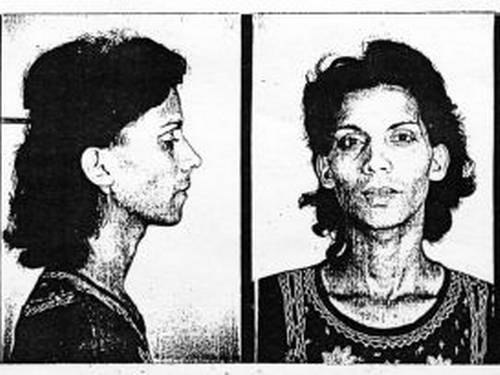Ficha criminal de M.C.D, presa aos 16 anos pelo regime do ditador Francisco Franco por ser lésbica (FOto: Associação de Ex-Presos Sociais)