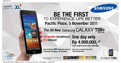 Samsung Galaxy Tab 7 launched last year is Samsung Galaxy Tab 7 Plus