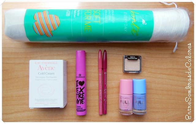 haul compras maquillaje Essence, Flormar, Wet N Wild, Avène, Primark, Bonté