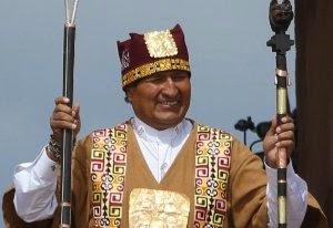 Evo Morales, el emperador inca