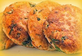 Hamburguesas de pollo y champiñones