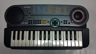 keyboard with microphone casio SK-60