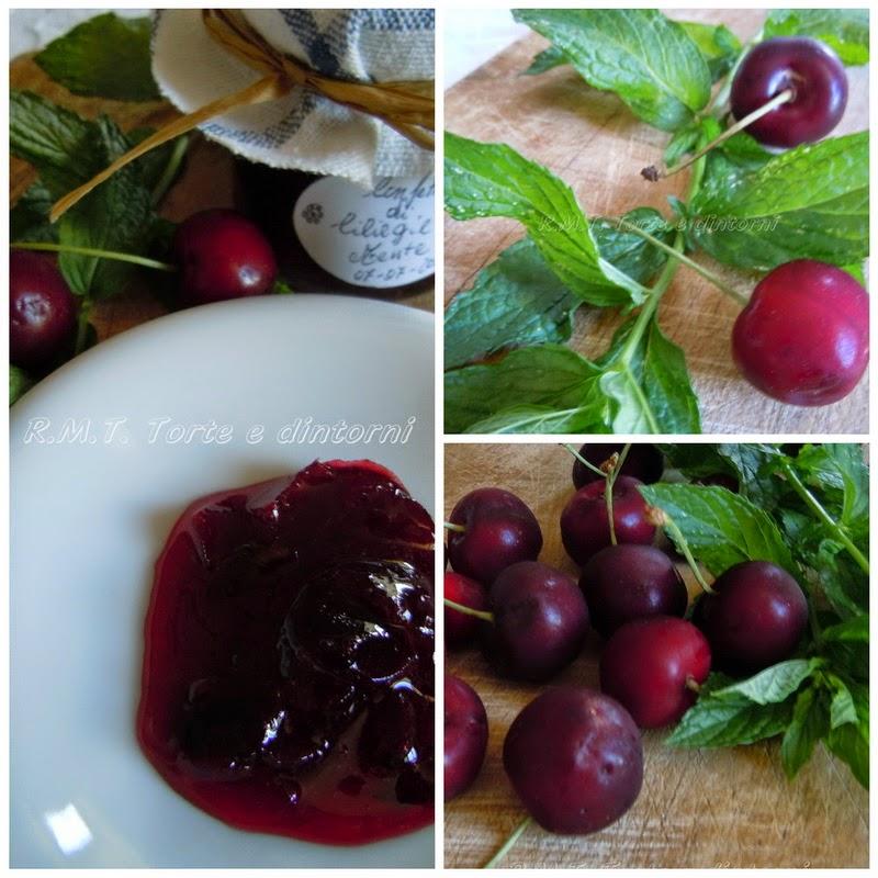 Confettura di ciliegie e menta
