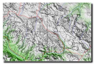 Abetone Toscana mappa