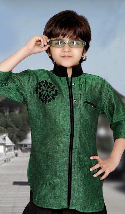 Fashion Arrivals Latest Kids Kurta Design Eid Collection