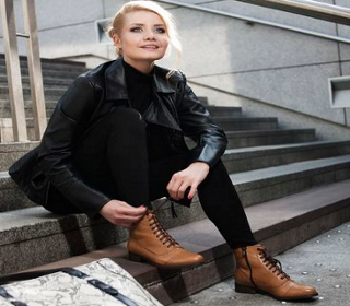 Konkurs Lady in the city. Militarny look z Nessi
