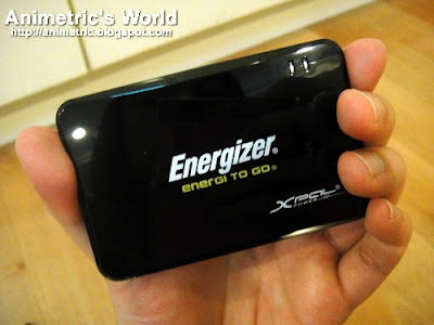 Energizer Energi To Go XP1000 Portable Charger Review