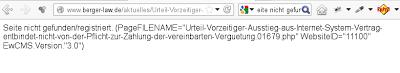 """Auch die Webseiten der Berger Law LLP werden durch das EwCMS sehr gut gefunden. Wenn man nicht nach Inhalten, sondern nach """"EwCMS"""" sucht.  Herr Philipp Berger ist deshalb sehr zufrieden und vor allem gilt: er lügt nie niemals!"""