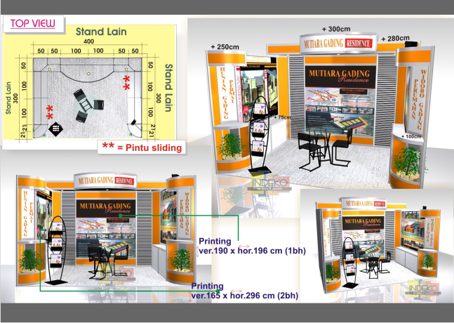 booth exhibition, venue exhibition, stand pameran, interior exhibition, booth