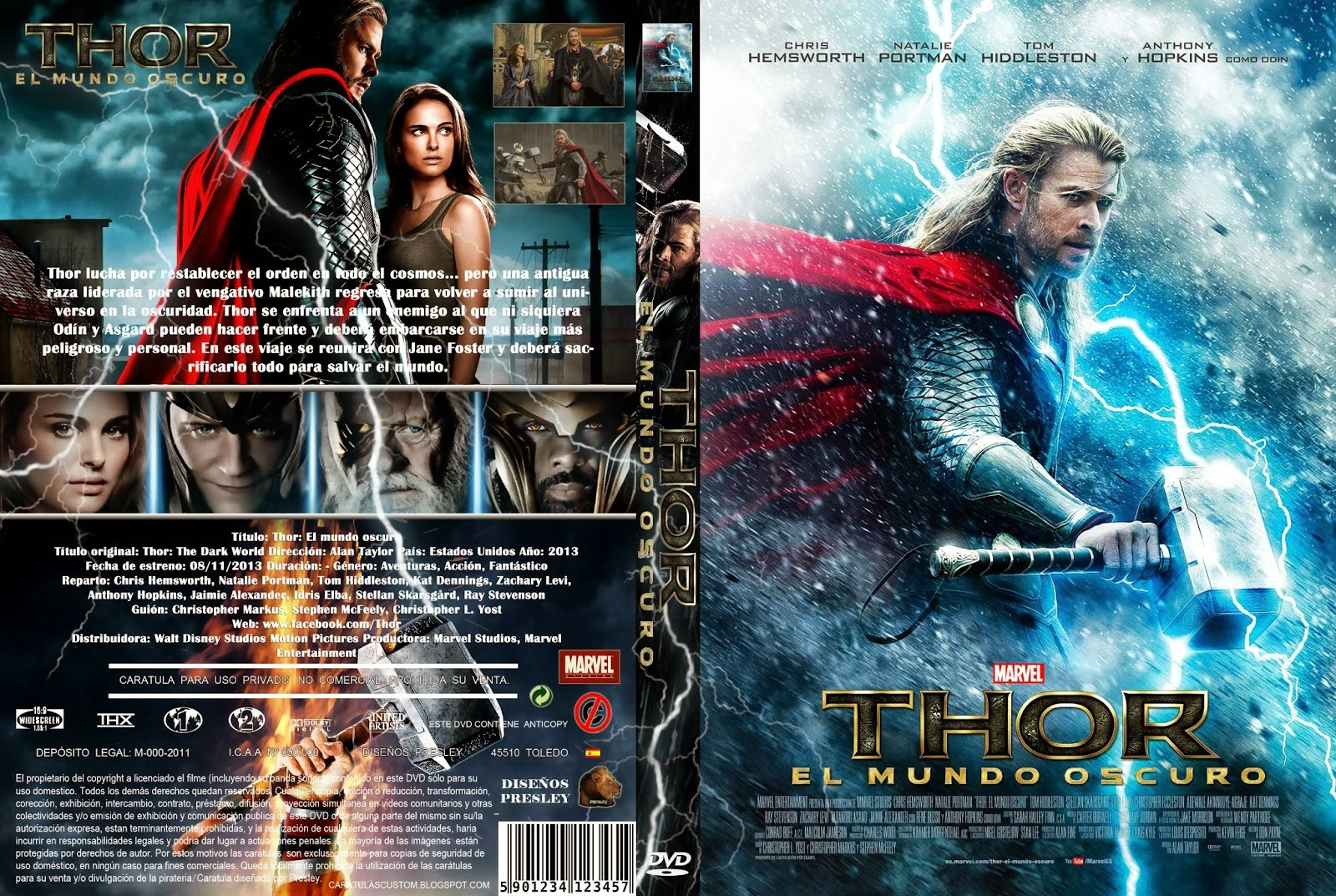 Thor El Mundo Oscuro DVD