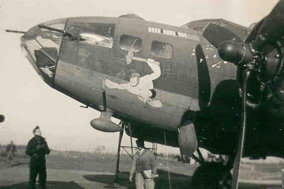 B17 nose art name directory  includes group squadron