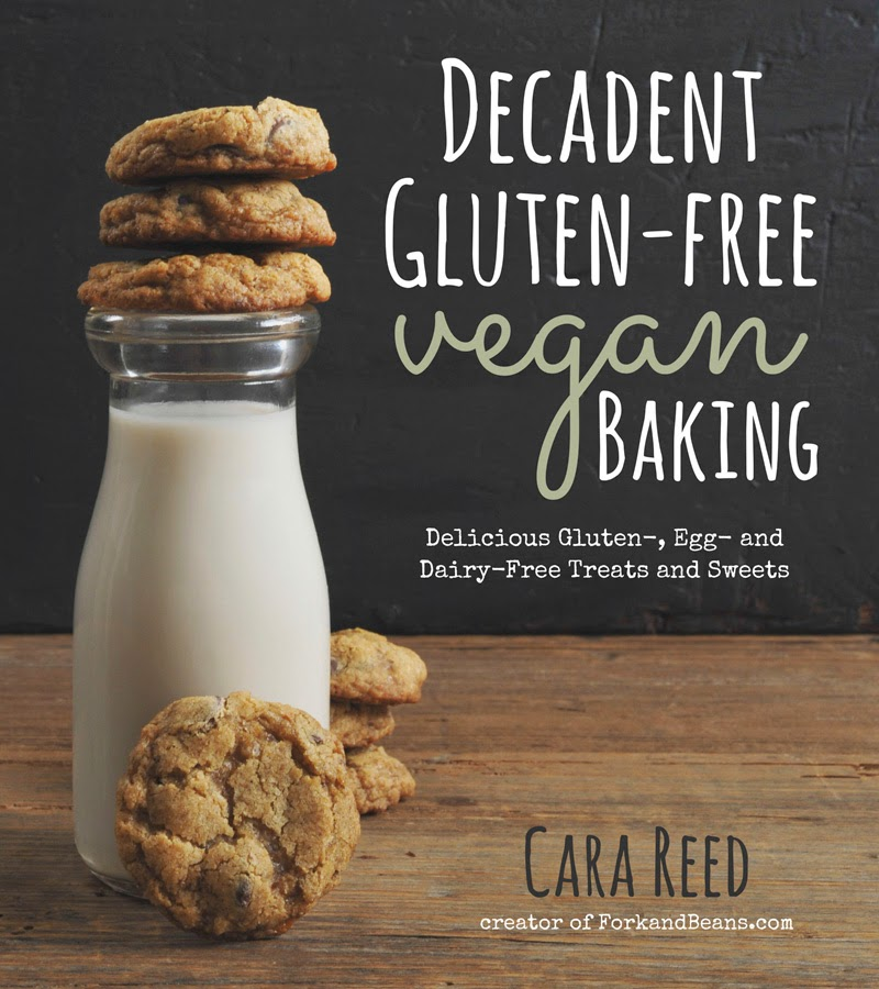 Decadent Gluten-Free Vegan Baking: Delicious Gluten-, Egg-, and Dairy-Free Treats and Sweets Give Away