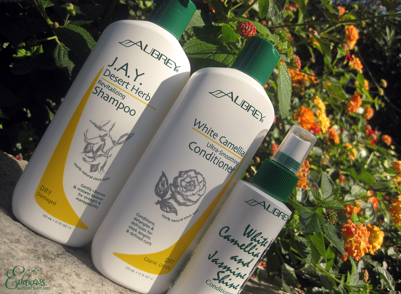 cheveux secs produits aubrey revues