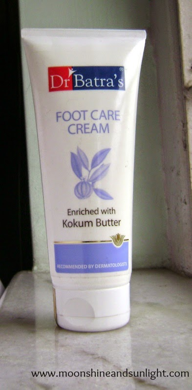 Dr. Batra's Foot  care cream  enriched with Kokum butter review