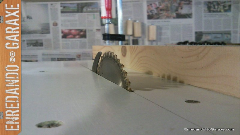 How to make a table saw. More than 280000 views and 650 likes in youtube so far, enredandonogaraxe
