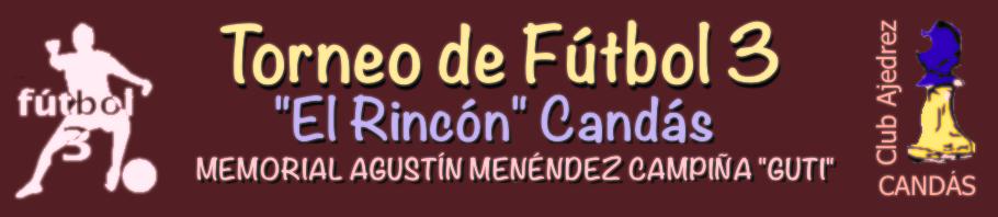 FÚTBOL 3 CANDÁS