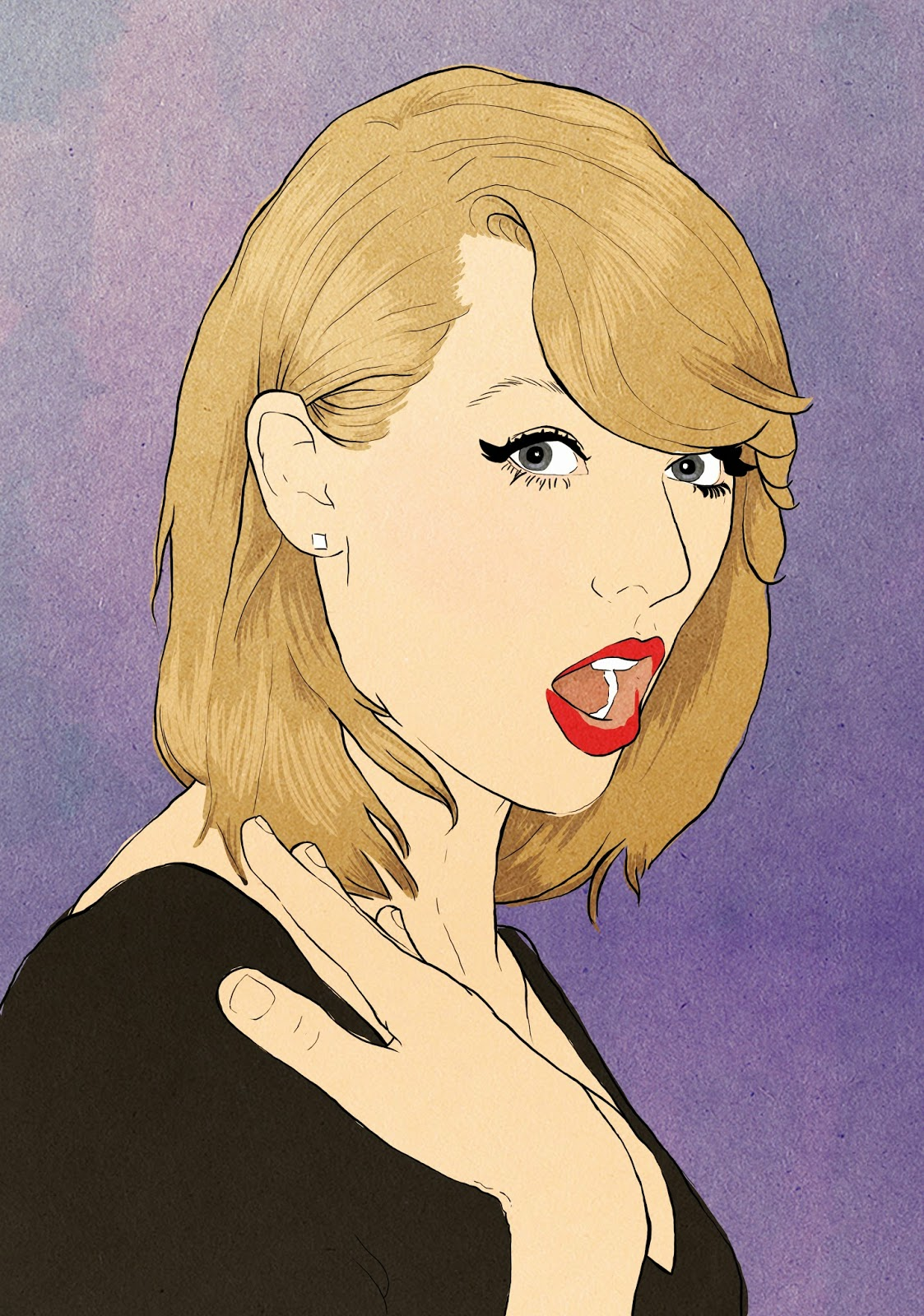Taylor-Swift-Drawing, Taylor-Swift-Cute, Taylor-Swift-1989, Taylor-Swift-Is-My-Spirit-Animal, Taylor-Swift-2014
