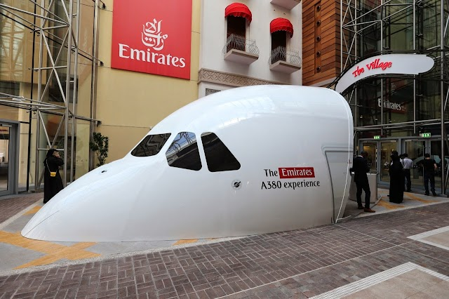 Emirates A380 Experience Opens in Dubai Mall