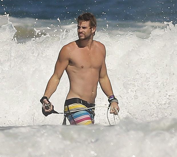 Liam Hemsworth Praia