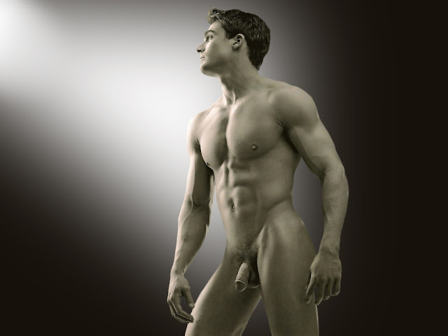 Philip fusco male model nude