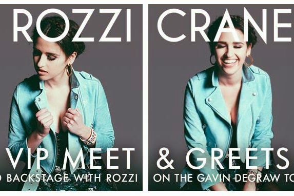 Rozzi crane music during my last tour with maroon 5 and kelly clarkson i did some exclusive meet and greet before my show and i loved meeting you guys m4hsunfo