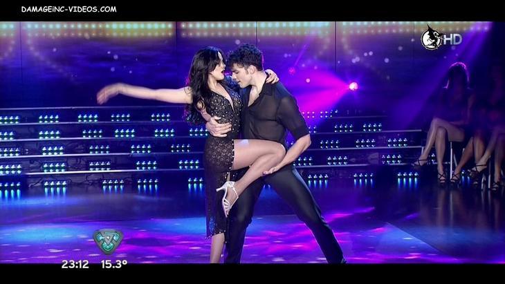 Barbara Velez hot legs show damageinc HD video