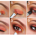 Brown, Orange & Yellow Amalgam Eyeshadows Tips