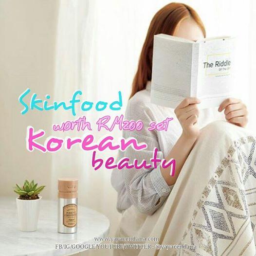 SKINFOOD : worth RM200 set ( Korean Beauty )