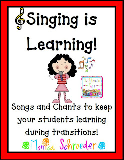 TPT Back to School, Singing is Learning, photo