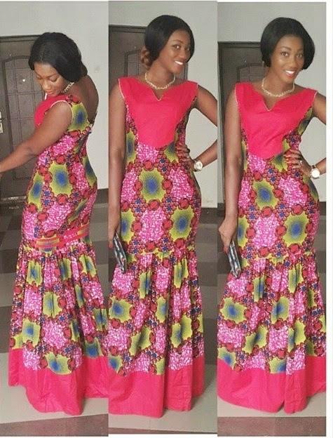 Ankara Gown Style - DeZango Fashion Zone
