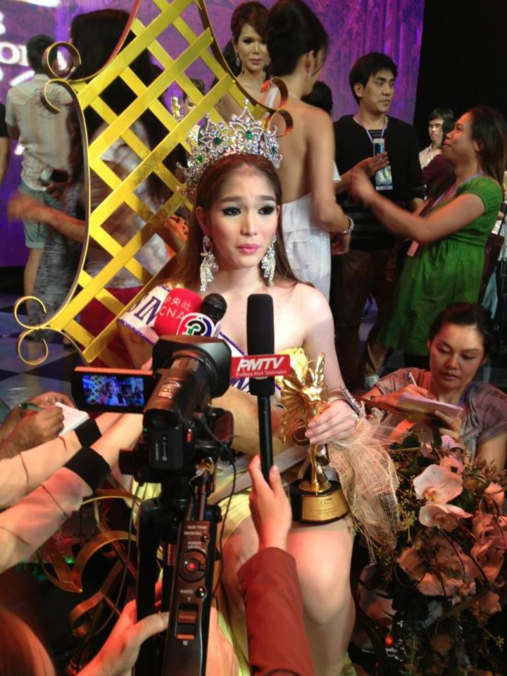 Miss International Queen 2012 winner Kevin Balot of Philippines
