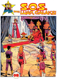 ebook komik Arad dan Maya - SOS dari Luar Galaksi