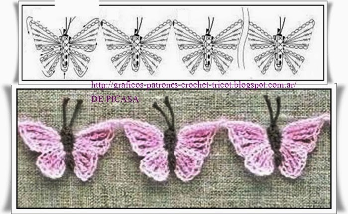 crochet fabric , CROCHET - GANCHILLO - PATRONES - GRAFICOS: CARPETA ...