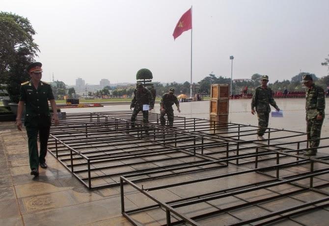 """Gia Lai: Trận địa pháo hoa sẵn sàng """"khai hỏa"""" mừng ngày giải phóng"""