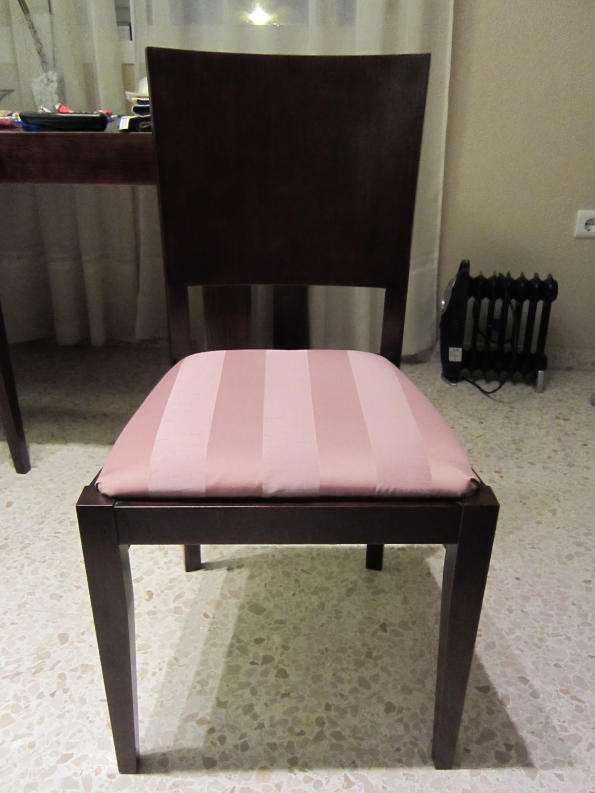 Tapizando con cojines mi llave allen - Cojines para sillas de comedor ...