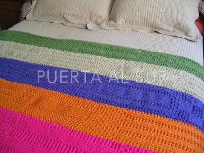 Puerta al sur julio 2012 - Mantas pie de cama ...