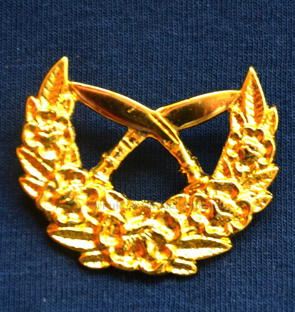 Official Nepal Army Issue Metal Shoulder Rank Badges Sir Kukri Co