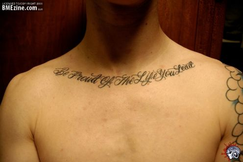 Funny pictures gallery life quotes tattoos life quote for Tattoo about life