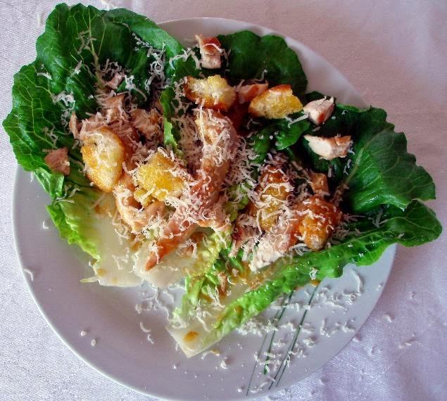 Low Carb Caesar Salad