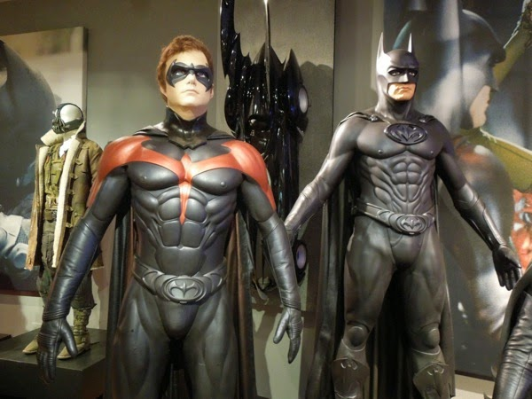 Batman and Robin movie costumes