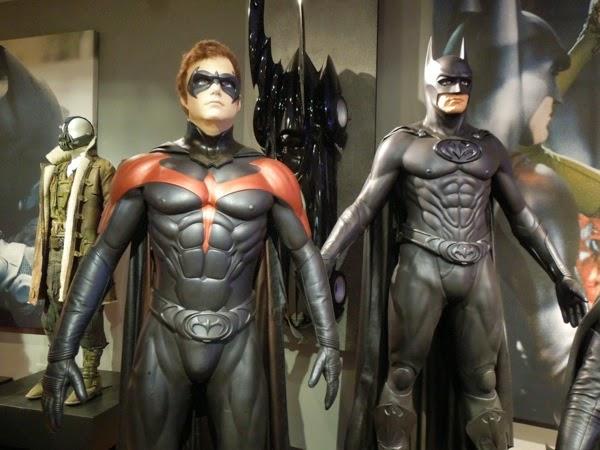 Batman and Robin movie costumes